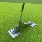 best time to lay artificial grass
